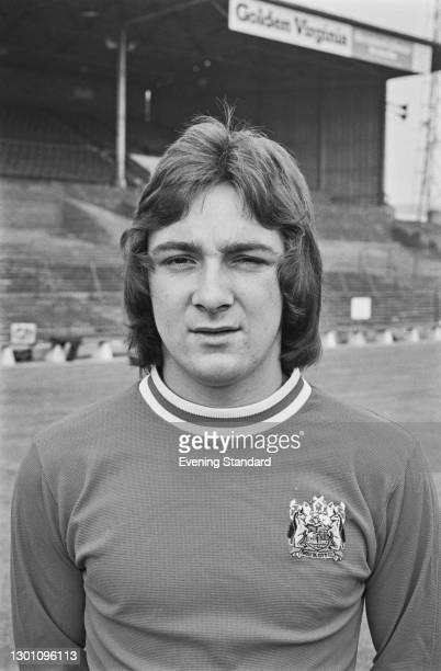 English footballer Martyn Rogers of Bristol City FC, a League Division 2 team at the start of the 1973-74 football season, UK, 21st August 1973.