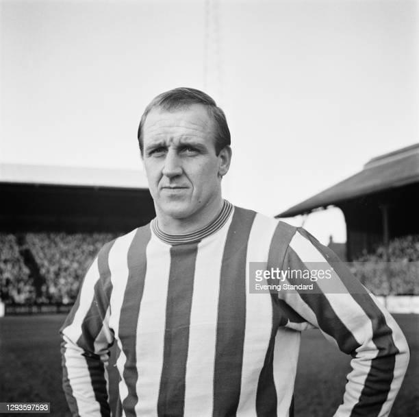 English footballer Maurice Setters of Stoke City FC, UK, January 1967.