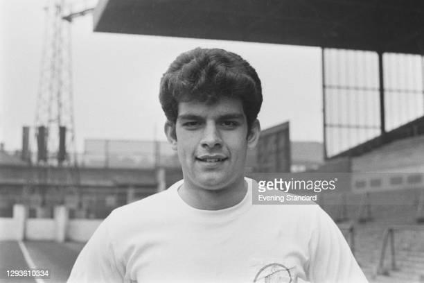 English footballer Mick Bates of Leeds United FC, UK, April 1967.