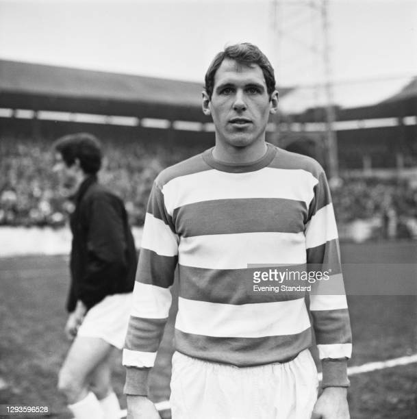 English footballer Mick Leach of Queens Park Rangers FC, UK, February 1968.