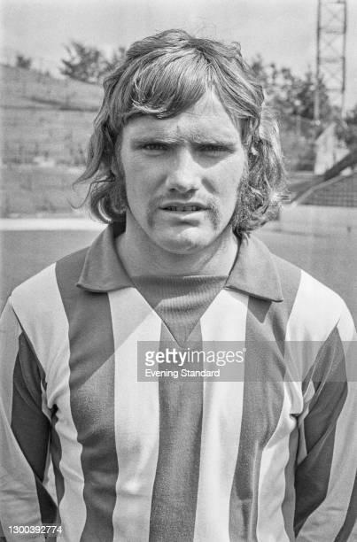 English footballer Mick Prendergast of Sheffield Wednesday FC, UK, 25th July 1972.