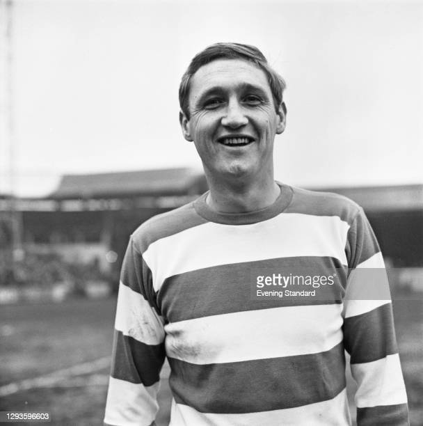 English footballer Mike Keen of Queens Park Rangers FC, UK, February 1968.