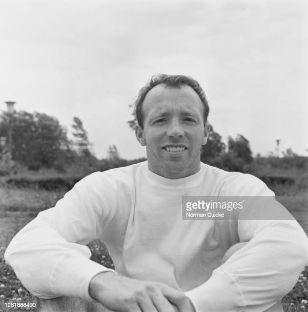 English footballer Nobby Stiles of the England World Cup team, UK, July 1966.