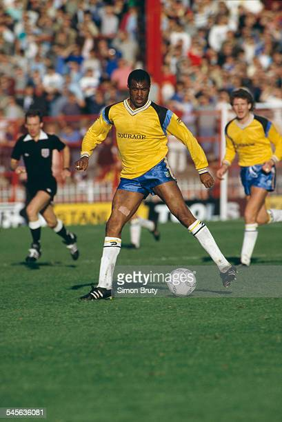 English footballer Paul Canoville of Reading F.C during a League Division Two match against Sheffield United, Sheffield, UK, 11th October 1986. The...