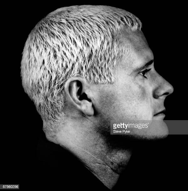 English footballer Paul Gascoigne better known as Gazza mid 1990s