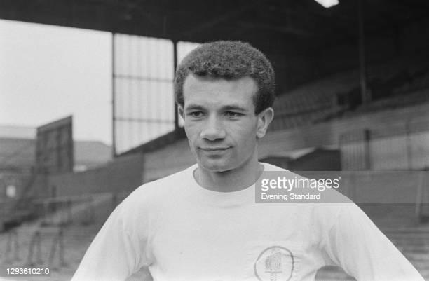 English footballer Paul Reaney of Leeds United FC, UK, April 1967.