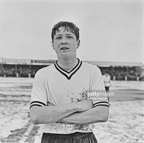 English footballer Paul Went , captain of the English Schools' Football Association team, UK, 3rd April 1965.