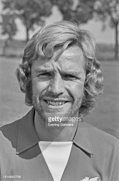 English footballer Peter Allen of League Division 2 team Leyton Orient FC at the start of the 1973-74 football season, UK, 24th August 1973.
