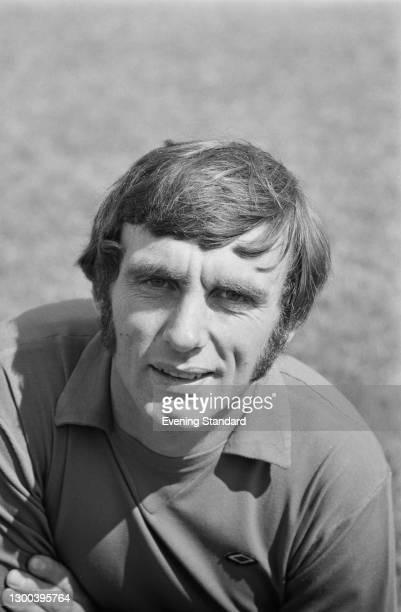 English footballer Peter Downsborough , goalkeeper for Swindon Town FC, UK, 28th September 1972.