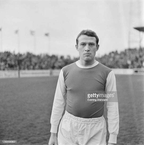English footballer Peter Eustace of Sheffield Wednesday FC, UK, March 1967.