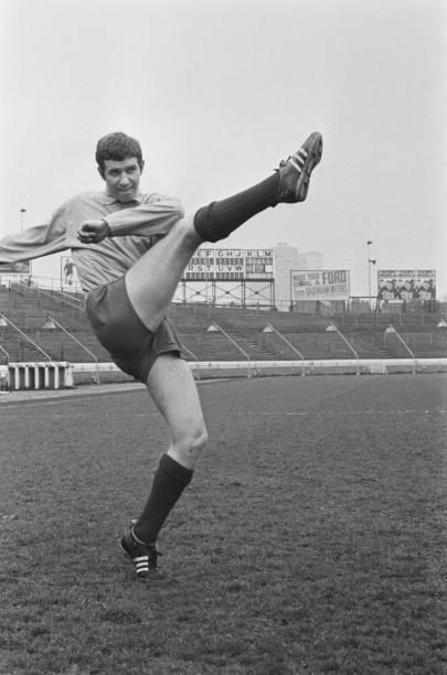 English footballer Peter Osgood of Chelsea FC, UK, May 1967.