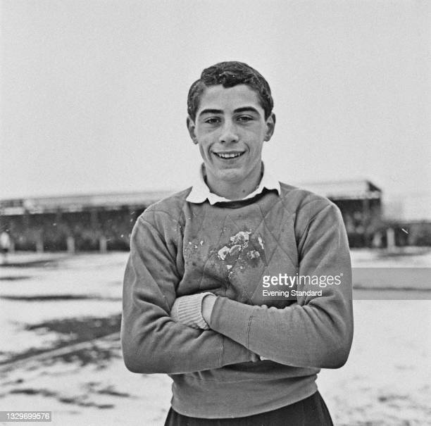 English footballer Peter Shilton of the English Schools' Football Association team, UK, 3rd April 1965. He went on to play for the England team.