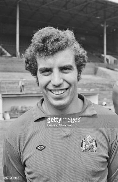 English footballer Ray Cashley of Bristol City FC, a League Division 2 team at the start of the 1973-74 football season, UK, 21st August 1973.
