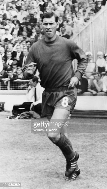 English footballer Ray Crawford of Charlton Athletic FC 17th August 1969