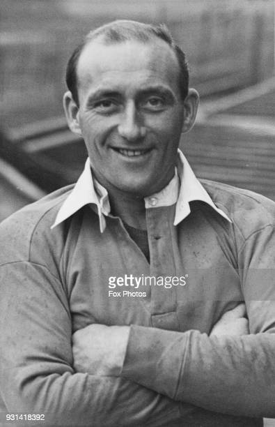 English footballer Robert Albert John Brown aka Sailor Brown the forward of Charlton Athletic FC 11th April 1946