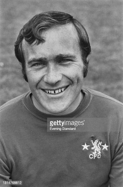 English footballer Ron Harris of League Division One team Chelsea FC, at the start of the 1974-75 football season, UK, 20th August 1974.