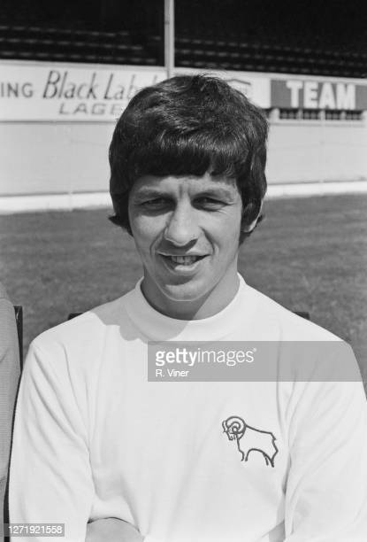 English footballer Ron Webster of Derby County FC, 1972.