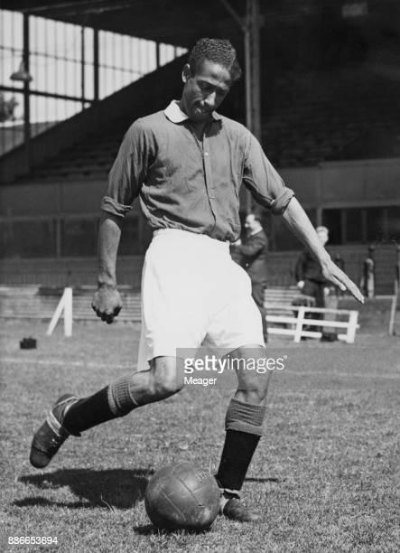 English footballer Roy Brown centre forward of Watford FC 16th November 1953