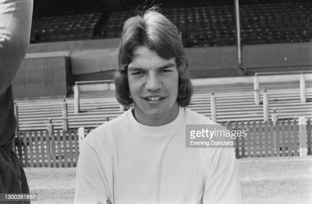 English footballer Sam Allardyce of Bolton Wanderers FC, UK, 7th August 1972.