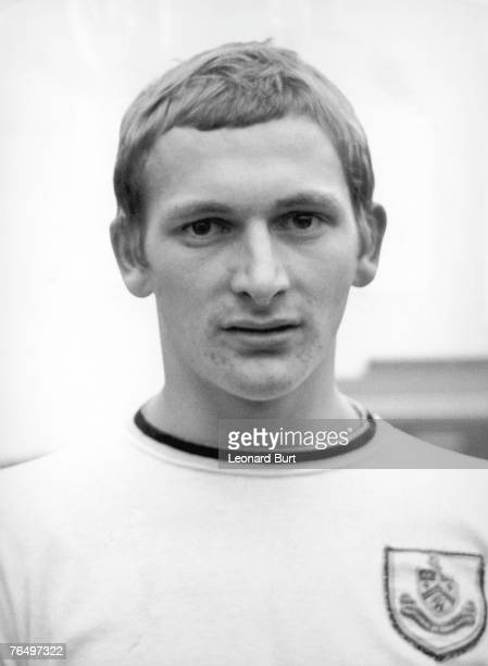 English footballer Steve Kindon during his time as leftwinger with Burnley FC 17th December 1969