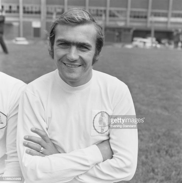 English footballer Terry Cooper of Leeds United FC, UK, 1971.