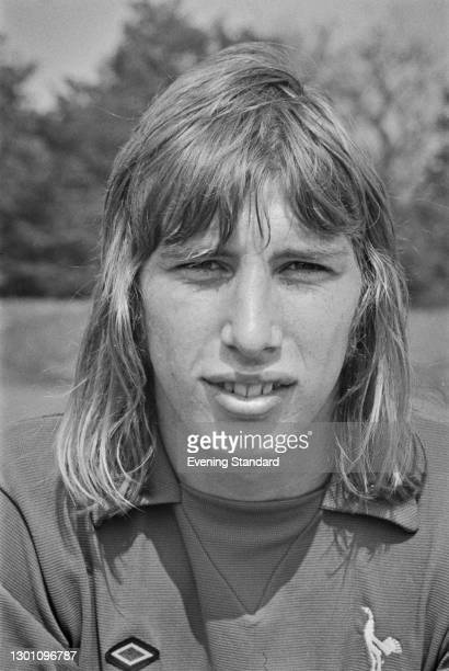 English footballer Terry Lee of Tottenham Hotspur FC, a League Division 1 team at the start of the 1973-74 football season, UK, 20th August 1973.