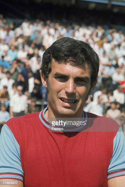 English footballer Trevor Brooking of West Ham United FC circa 1970