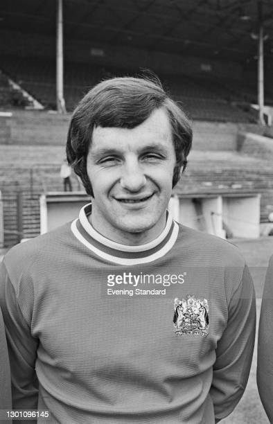 English footballer Trevor Tainton of Bristol City FC, a League Division 2 team at the start of the 1973-74 football season, UK, 21st August 1973.