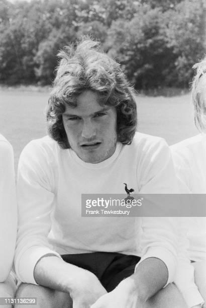 English former footballer and manager Glenn Hoddle of Tottenham Hotspur FC, London, UK, 26th August 1975.