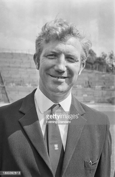 English former footballer Derek Dooley , manager of Sheffield Wednesday FC, UK, 25th July 1972.