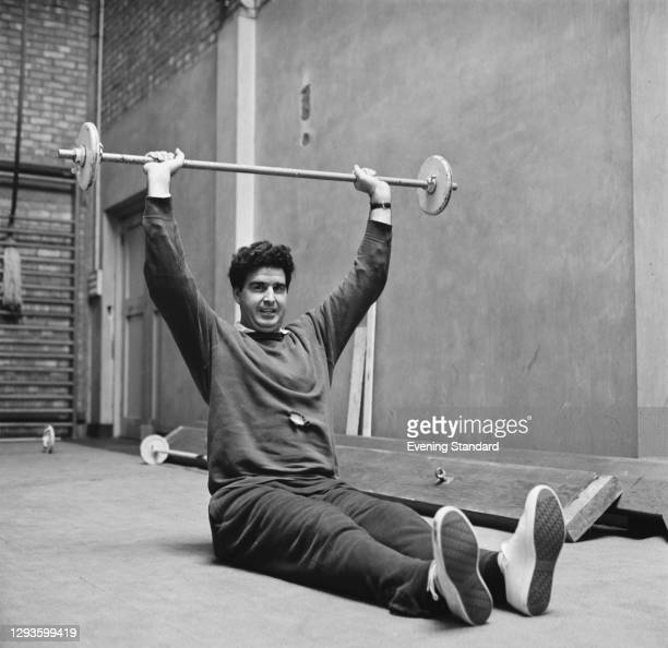 English former footballer Maurice Norman,UK, 19th September 1967. He played for Norwich City and Tottenham Hotspur before a leg injury brought an end...