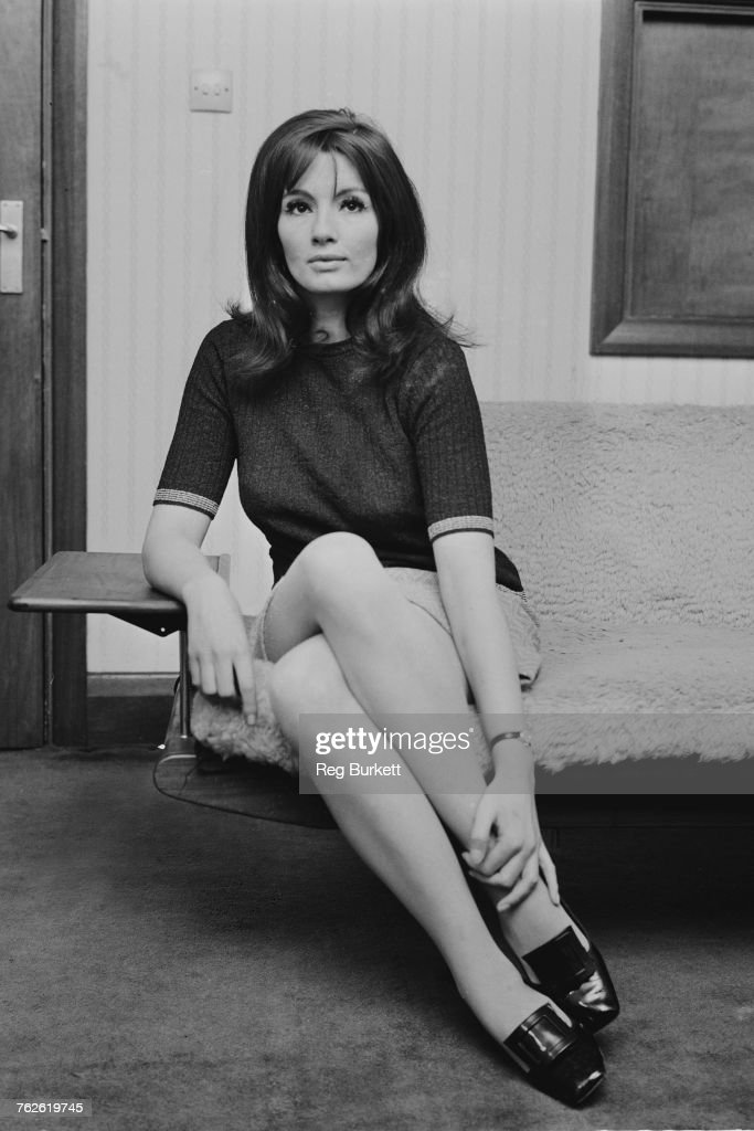 Christine Keeler At Home : News Photo