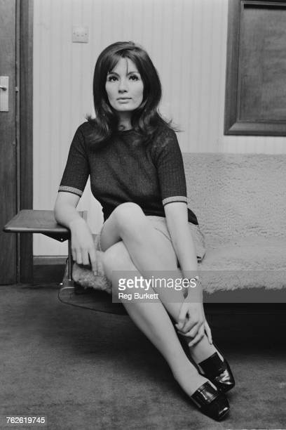 English former model and showgirl Christine Keeler at her home in London 7th May 1969 Keeler is best known for her affair with cabinet minister John...