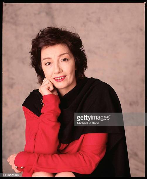 English former model and showgirl Christine Keeler London February 1989