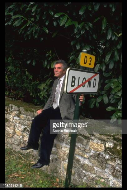 English Former Publisher Anthony Blond In Bellac