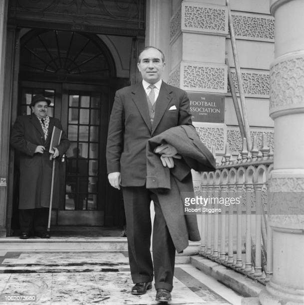 English former soccer player and manager of England Alf Ramsey London UK 23rd January 1963