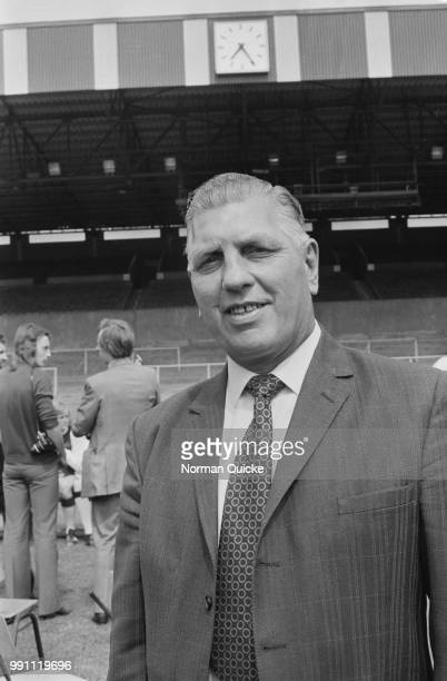English former soccer player Bert Head , manager of Crystal Palace FC, UK, 6th February 1973.