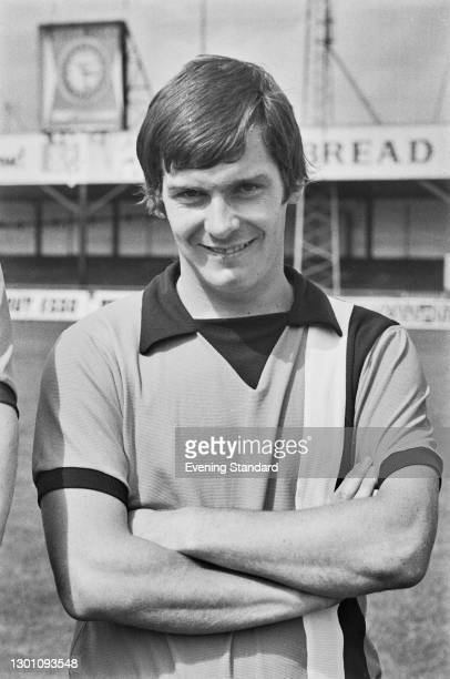 English full back Don Shanks of League Division 2 team Luton Town FC, at the start of the 1973-4 football season, UK, 6th August 1973.
