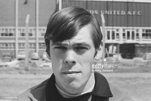 English goalkeeper David Harvey of Leeds United FC UK 29th July 1969