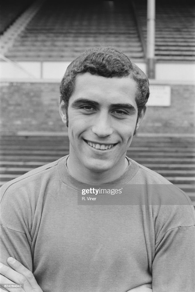 English goalkeeper for Leicester City F.C. Peter Shilton, 12th August 1970.