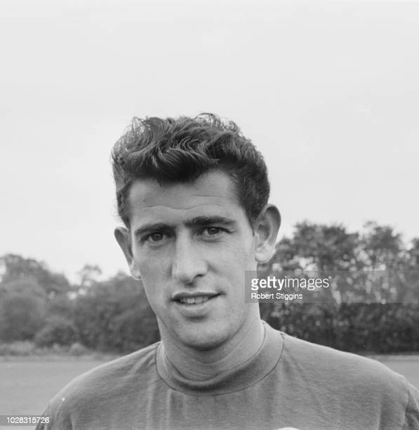 English goalkeeper Peter Bonetti of Chelsea FC UK 24th July 1964