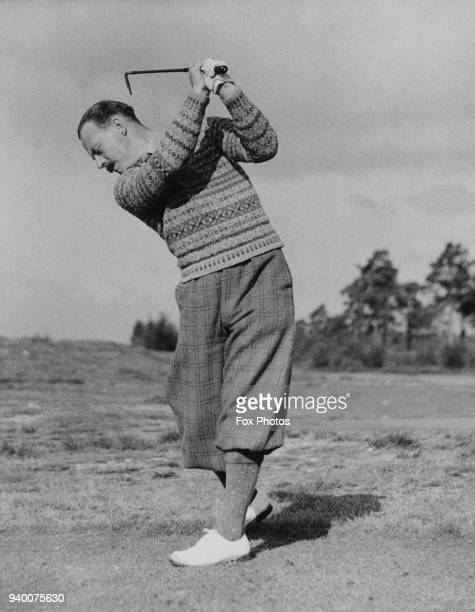 English golfer Leonard Crawley circa 1935