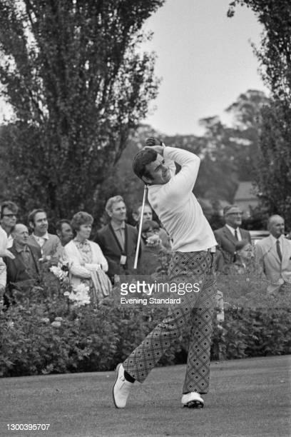 English golfer Tony Jacklin during the 1973 European Tour, UK, September 1972.