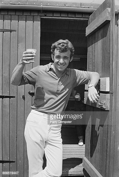 English golfer Tony Jacklin during the British Open at the Old Course at Royal Birkdale Golf Club in Southport England July 1971