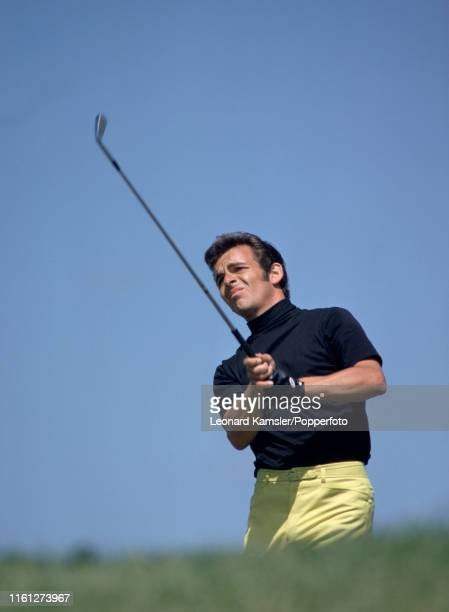 English golfer Tony Jacklin enroute to winning the US Open Golf Championship at Hazeltine Golf Club in Chaska Minnesota on the final day 21st June...