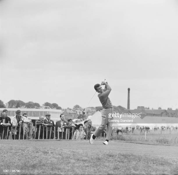 English golfer Tony Jacklin in action at the 97th Open Championship at Carnoustie Golf Links, Angus, Scotland, 10th-13th July 1968.