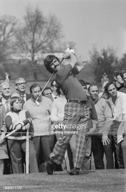 English golfer Tony Jacklin, UK, 2nd May 1973.