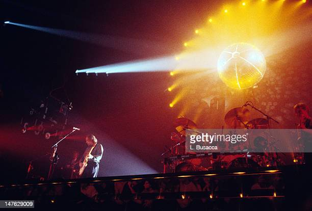 English group Pink Floyd performs in concert New York New York circa July 1984