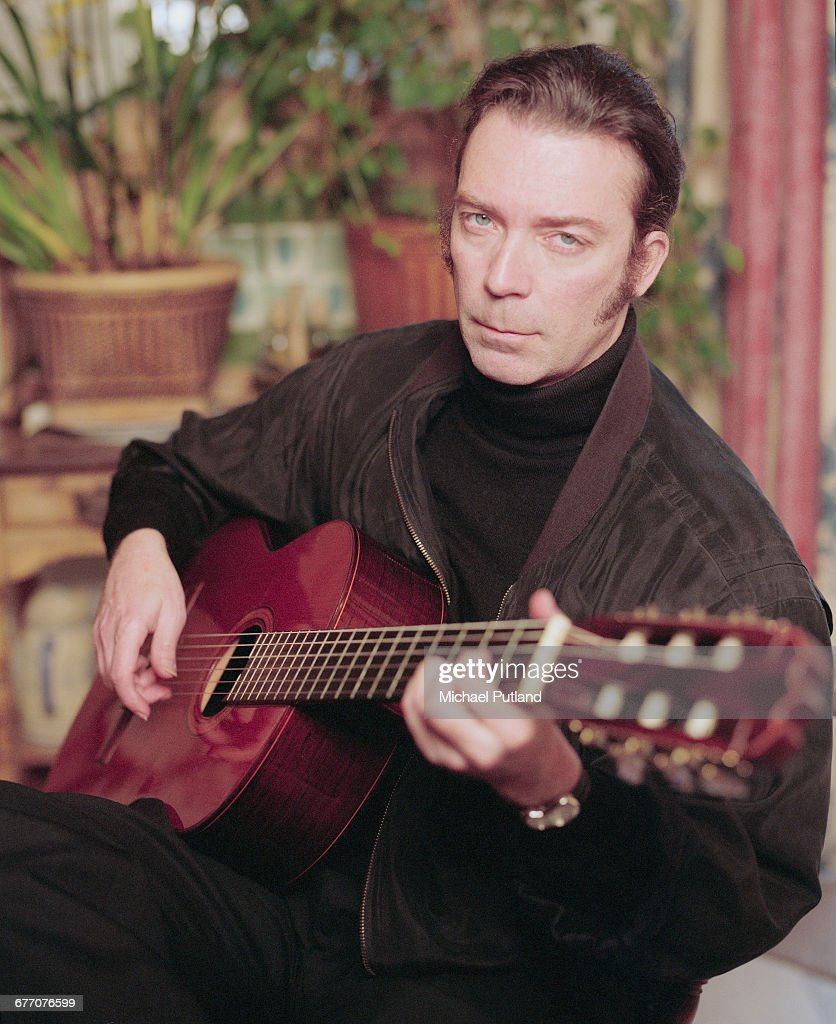 English guitarist and songwriter, Steve Hackett, March 1997.