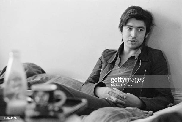 English guitarist Chris Spedding, of British rock group Sharks, 19th April 1973.